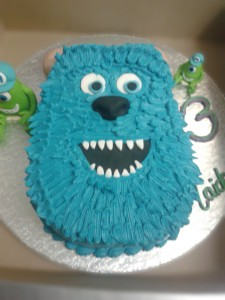 A friendly monster cake for an awesome party.