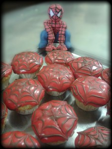 Hero saves the day, and brings tasty cupcakes too.